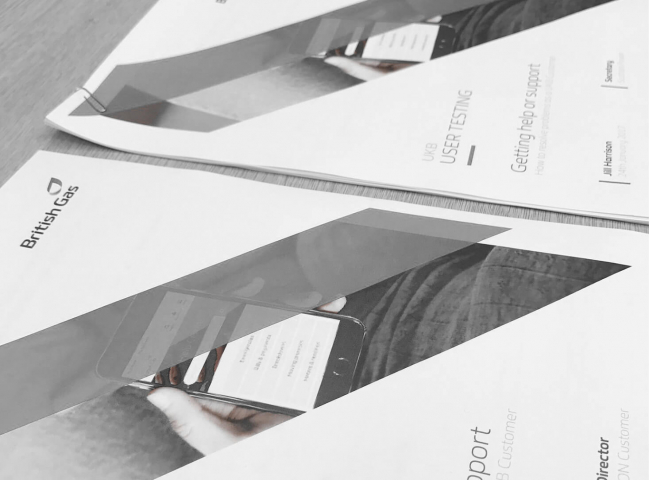 Testing workbooks for user testing participants